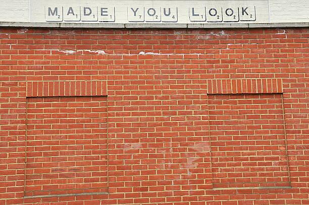 Banksy Graffiti In Nottinghill - foto stock