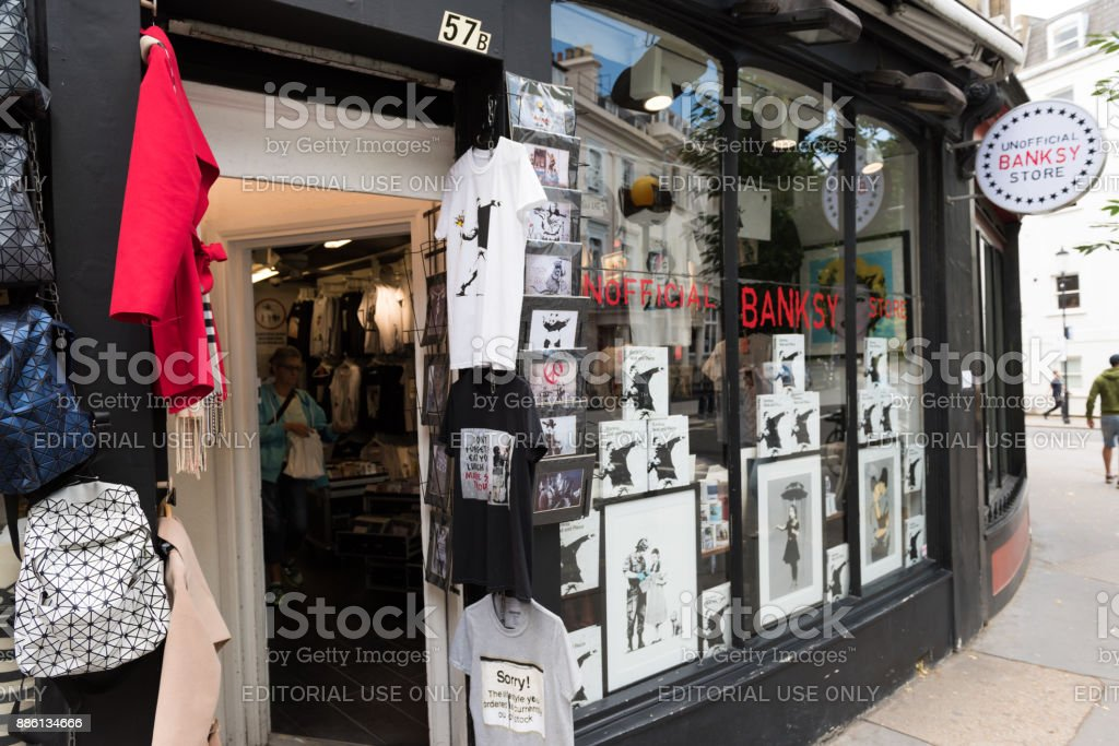 Banksy Store stock photo