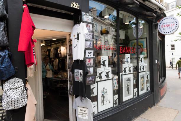 Banksy Store - foto stock