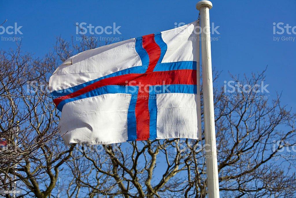 Banner against the backdrop of  sky royalty-free stock photo
