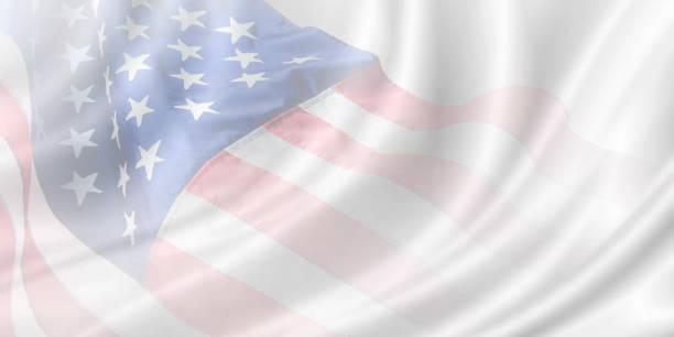 USA-Banner-Hintergrunddesign mit Kopierraum – Foto