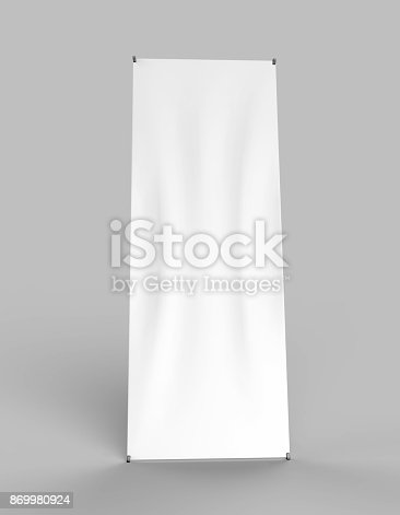 istock Banner Stand 869980924