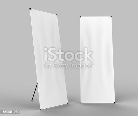 816094246 istock photo Banner Stand 869981250