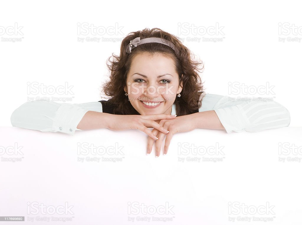 Banner - Cheer Smile! royalty-free stock photo