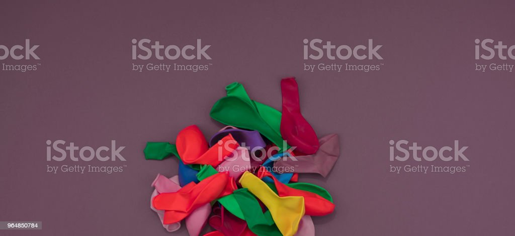Banner Decorative composition a set of materials for the design of the holiday. royalty-free stock photo