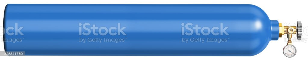 Banner for the site for the sale of liquid oxygen. stock photo