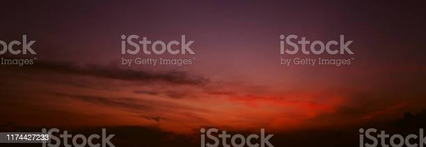 Banner of sunset sky in dark orange and blue colors picture id1174427233?b=1&k=6&m=1174427233&s=612x612&h=a yq99zuwhnb37k7inmwxggnard7lncis0g9yisq5be=
