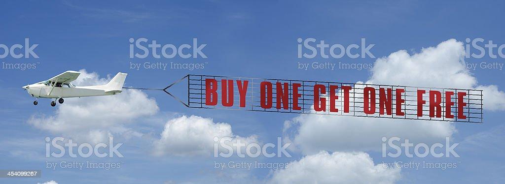BOGO Banner stock photo