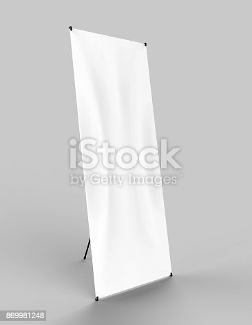 istock Banner Stand 869981248