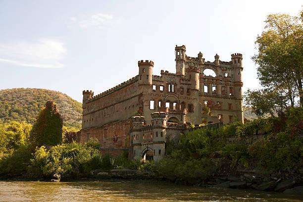 Bannerman Castle River View stock photo