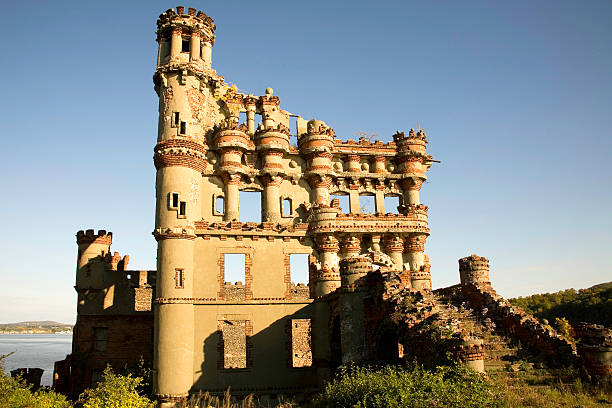 Bannerman Castle Side View stock photo
