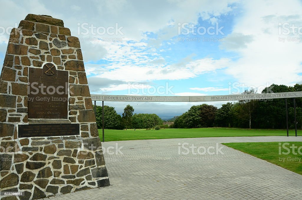 Bannockburn Monument stock photo