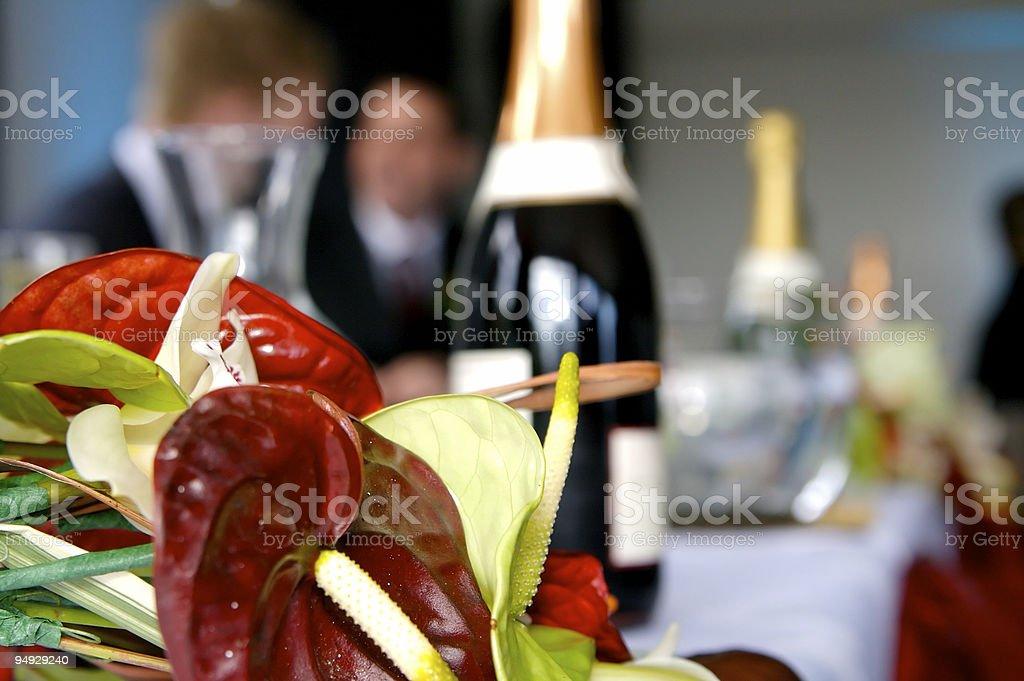 Banquet royalty-free stock photo