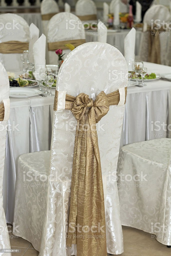 Banquet room royalty-free stock photo