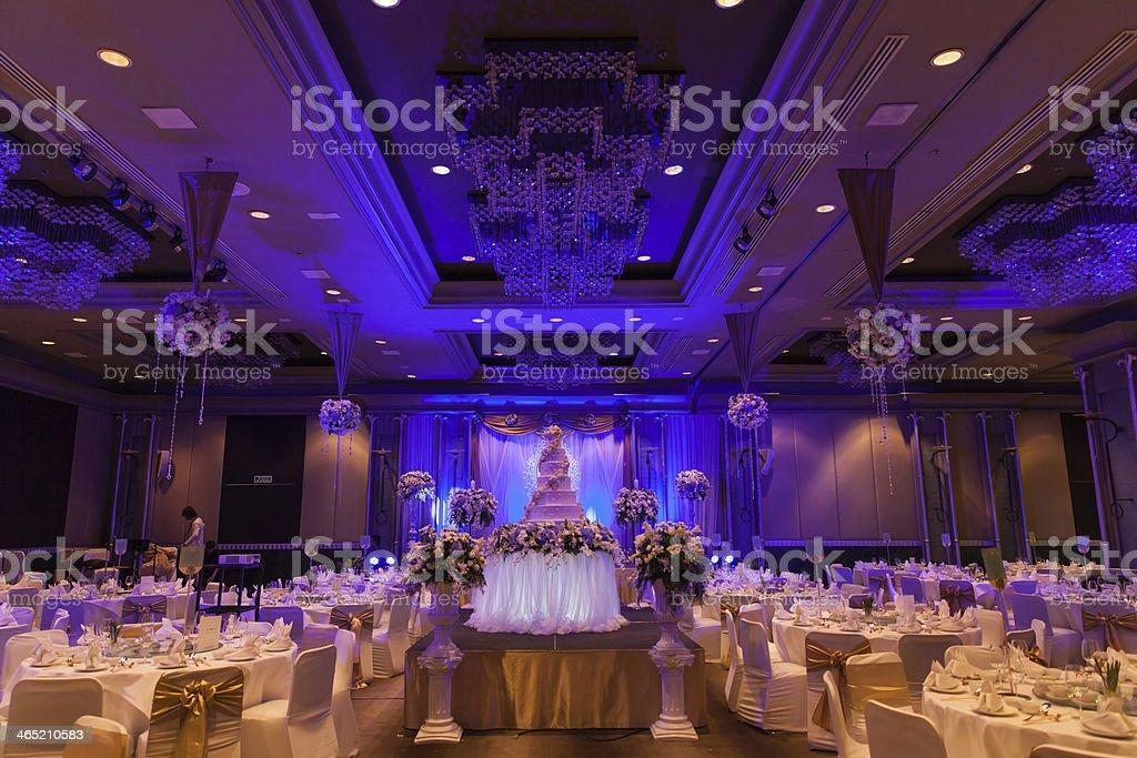 Banquet wedding stock photo