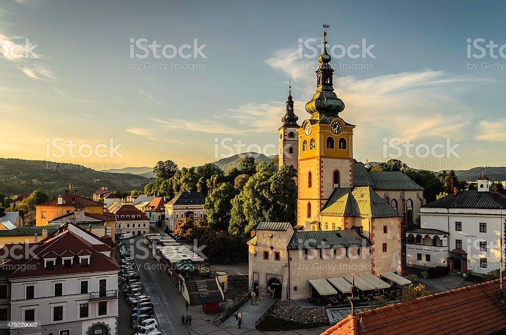 Banska Bystrica stock photo