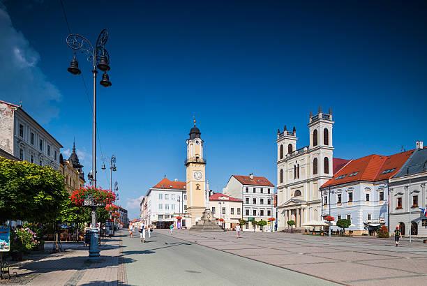 Banska Bystrica, Slovakia - Old Main Square – Foto