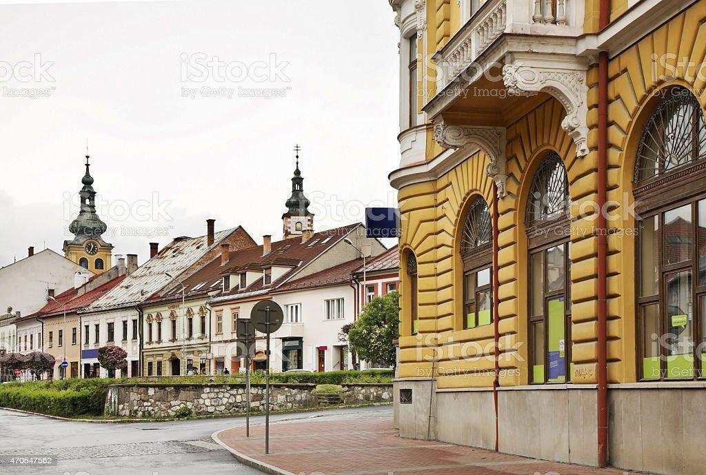 Banska Bystrica. Slovakia stock photo