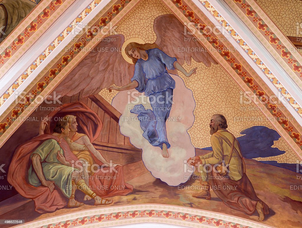 Banska Stiavnica-Apparation des Anges à shepherds - Photo