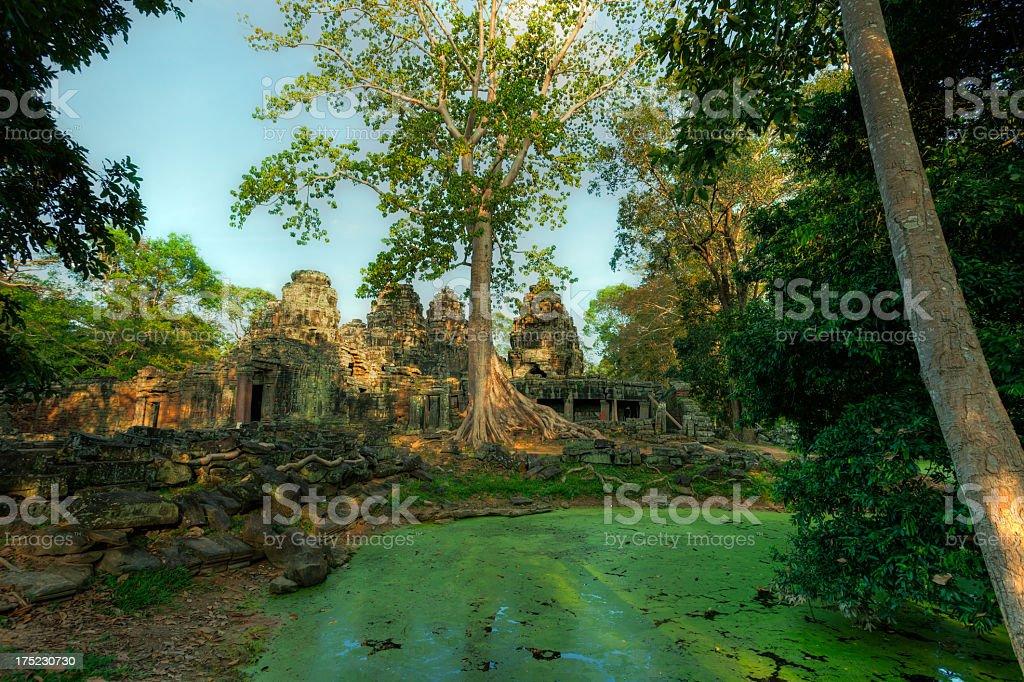 Banteay Kdei, Angkor, Cambodia stock photo