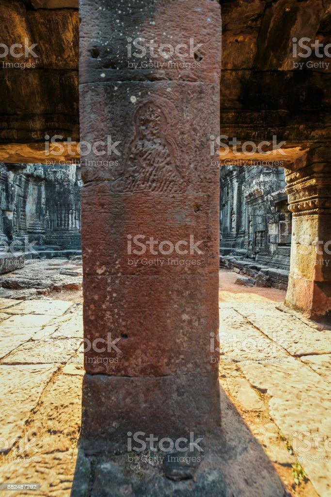 Banteay kdei stock photo