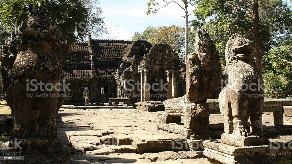 Banteay Kdei Temple. Angkor, Siem Reap, Cambodia stock photo