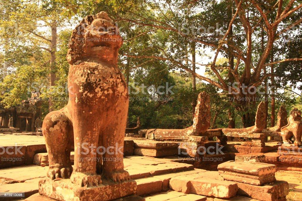 Banteay Kdei Temple, Cambodia stock photo