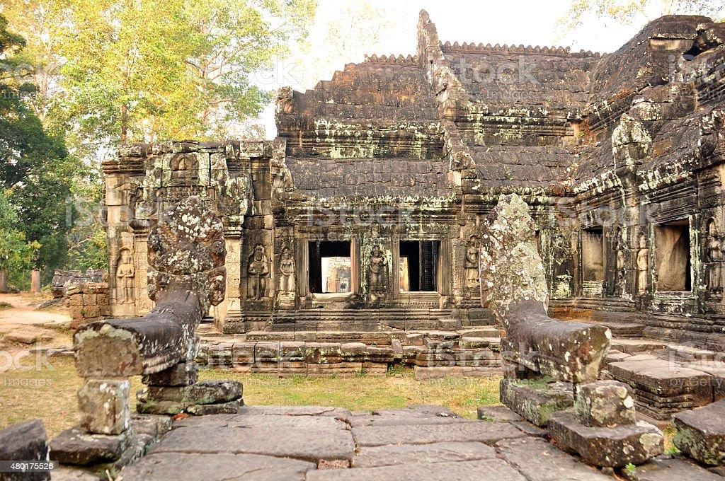 Banteay Kdei Temple in Angkor, Cambodia stock photo