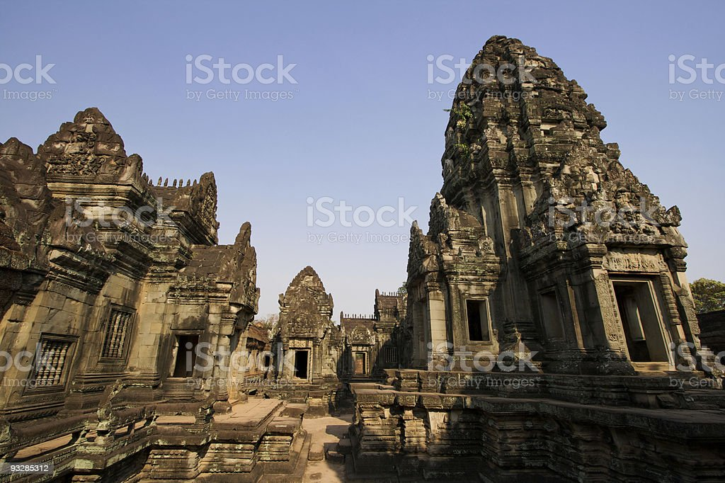 Banteay Samre stock photo