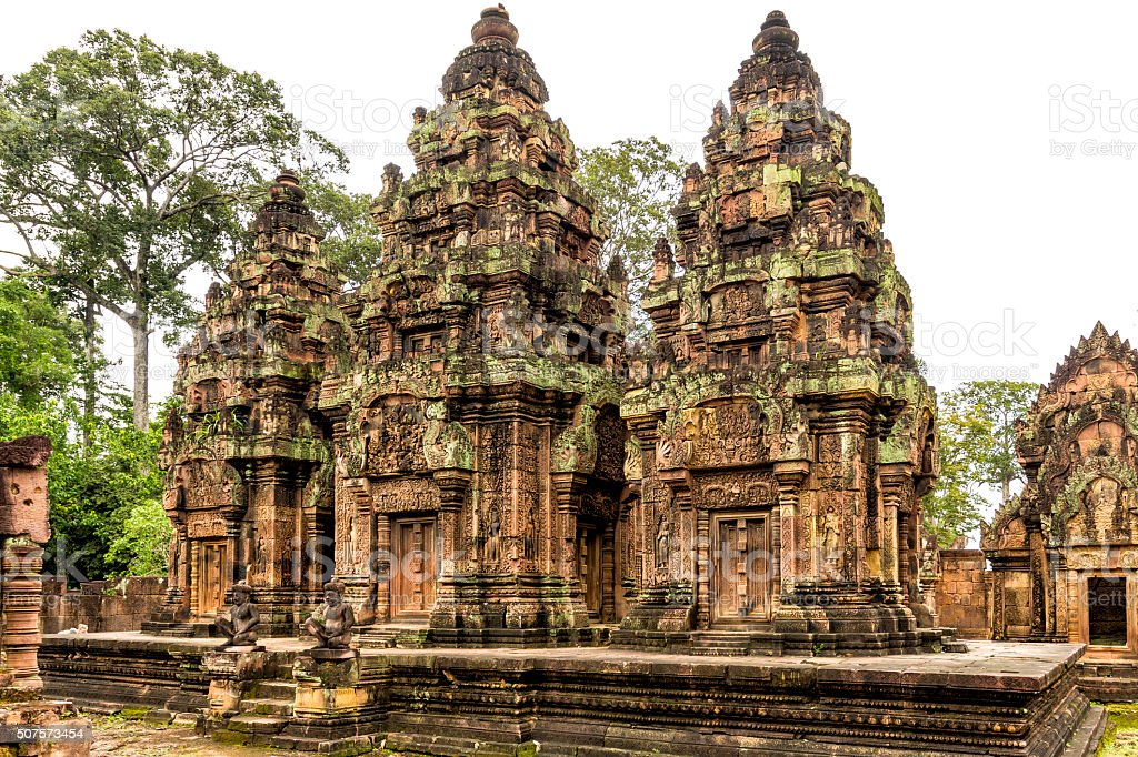 Banteay Srei - Citadel of Women stock photo