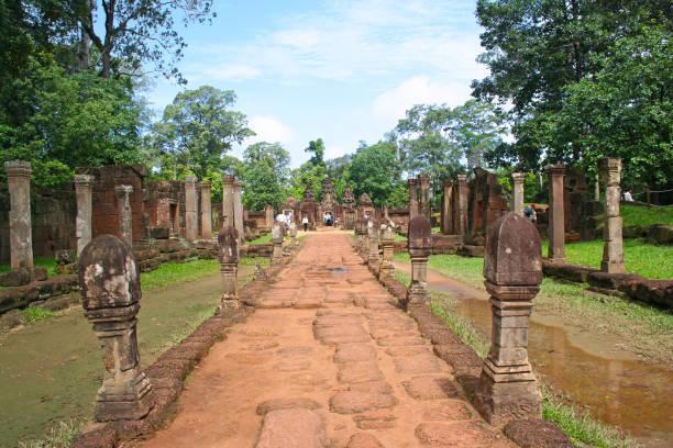 Banteay Srei in Siem Reap stock photo