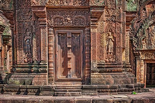 istock Banteay Srei temple in Angkor, Cambodia 636546706