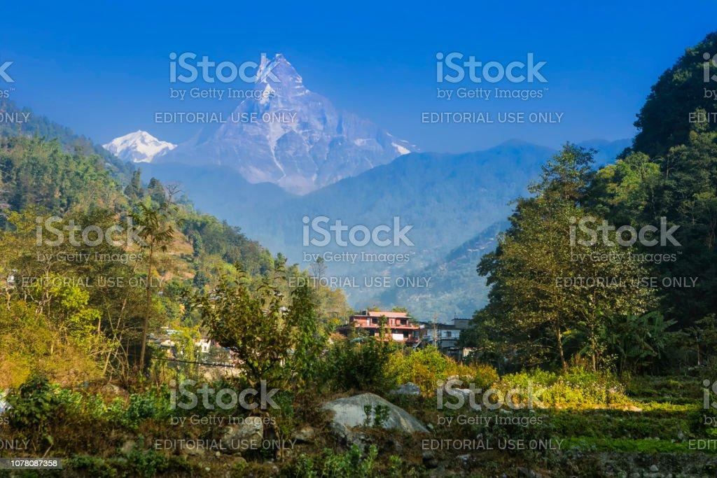 Banthanti, Nepal stock photo