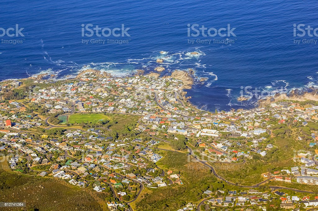 Bantry Bay Cape Town stock photo