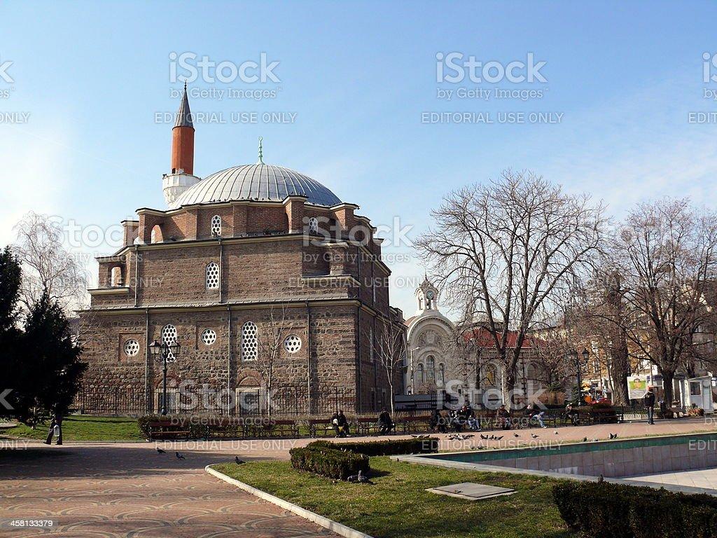 Banya Bashi Mosque in Sofia. Bulgaria stock photo