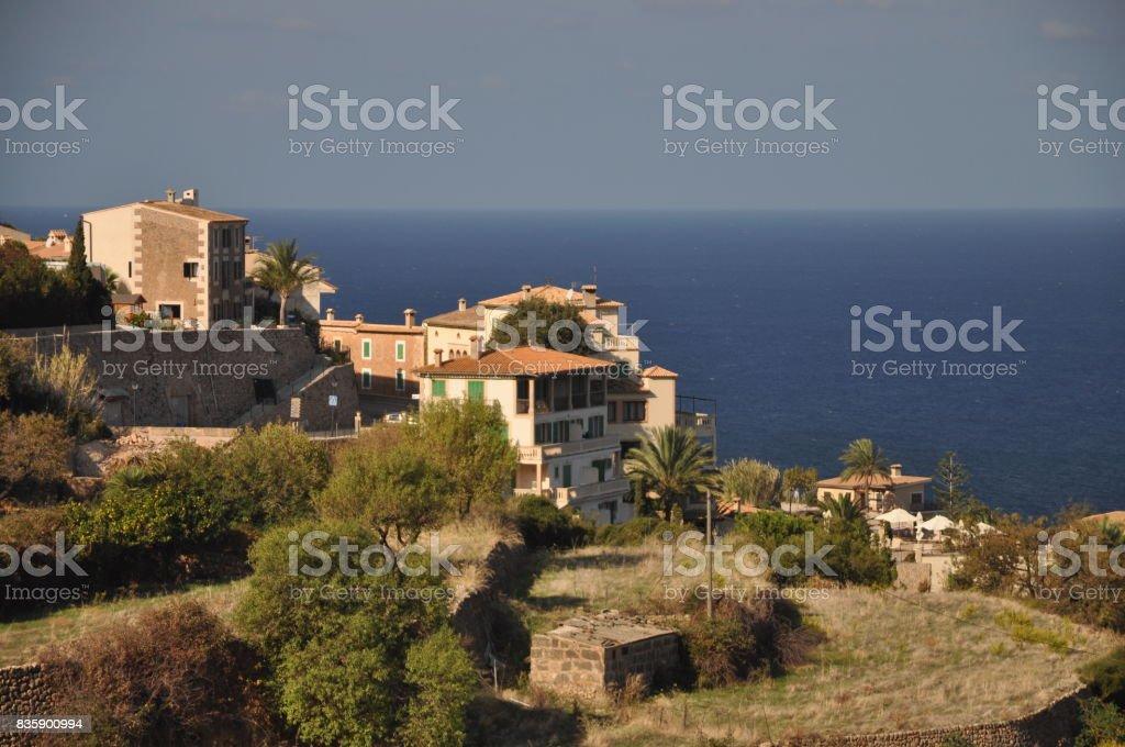 Banyalbufar, Majorca stock photo