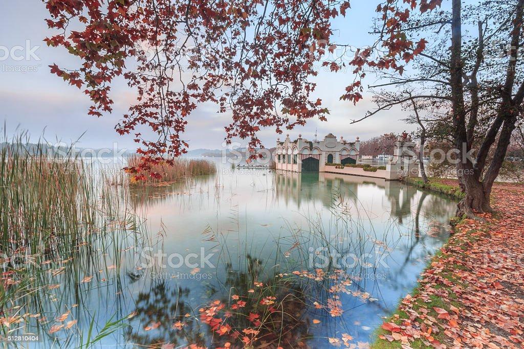 Banyoles - Gerona - Spain stock photo