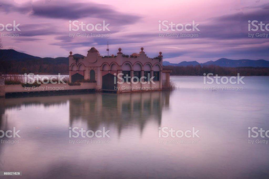 Banyoles, Girona, Spain stock photo