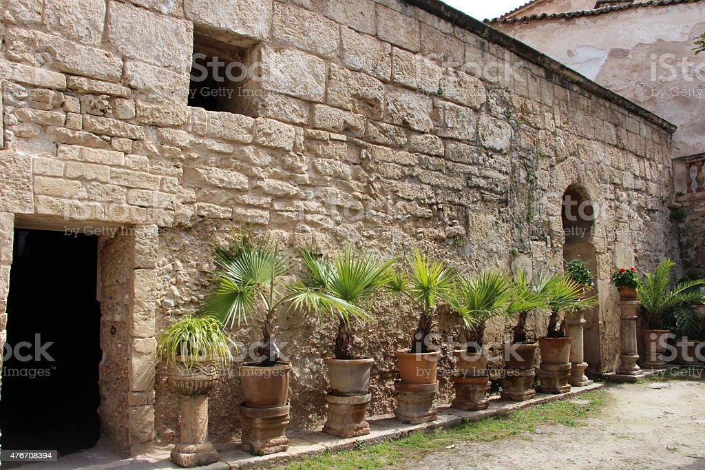 Banys arabs palma de maiorca stock photo