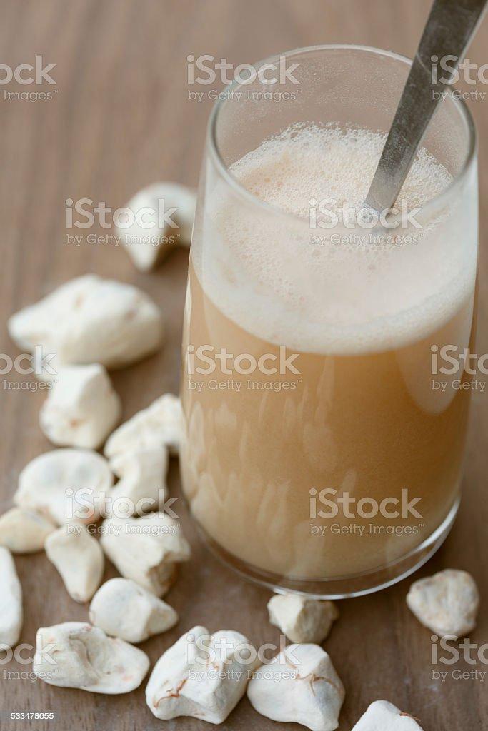 Baobab Fruit Drink stock photo