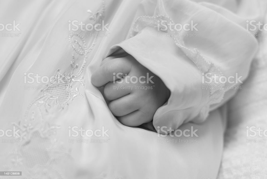 Baptism Day stock photo