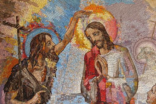 Baptism of Jesus Christ by Saint John the Baptist