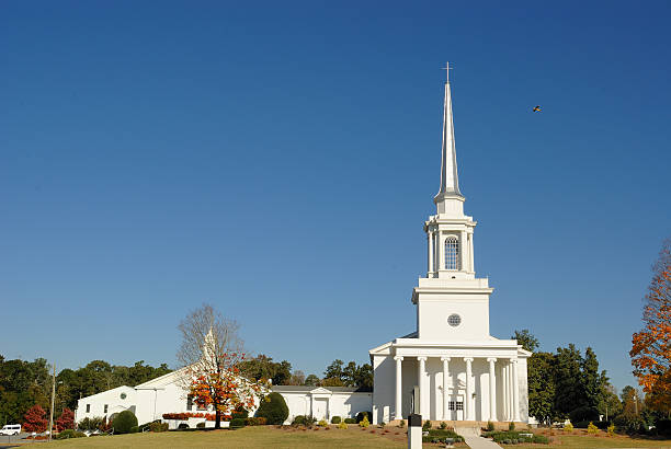 Baptist Church stock photo