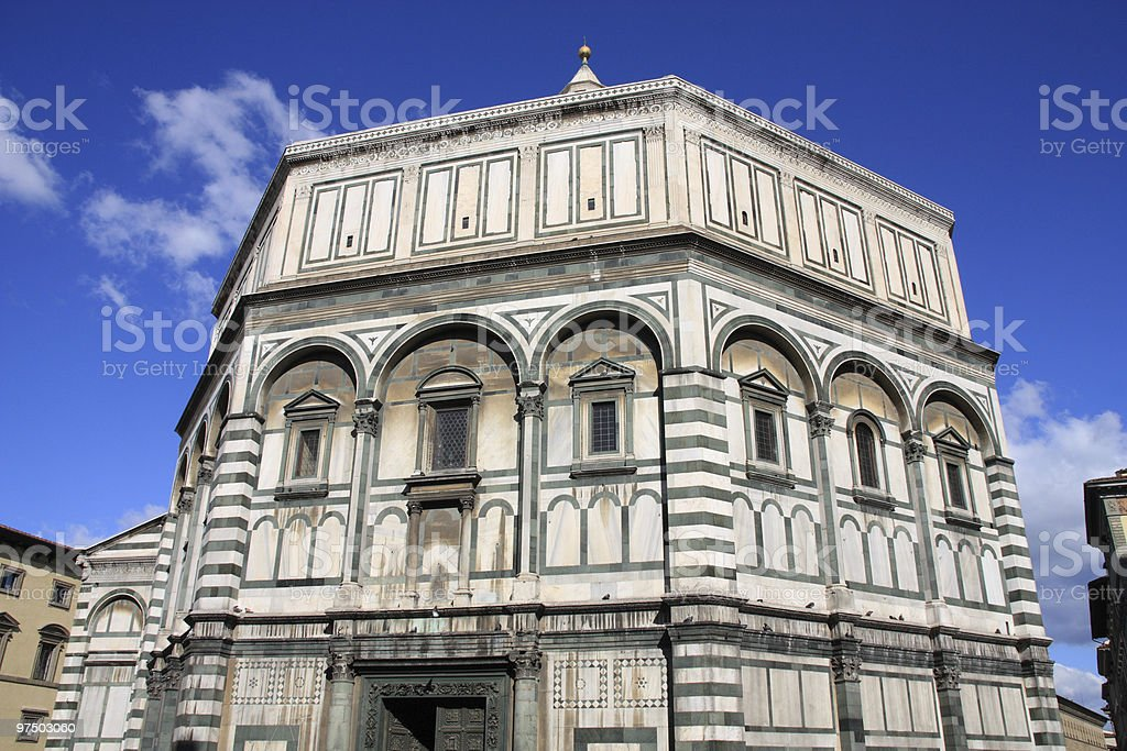 Baptistery royalty-free stock photo