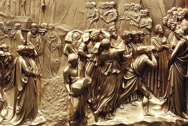 Baptistry Door Detail, Duomo, Florence, Italy