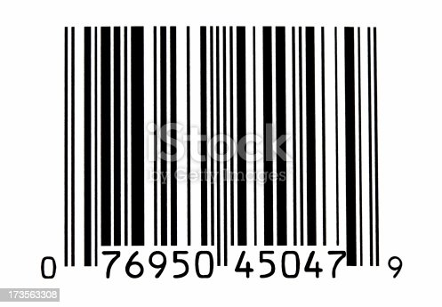 Generic closeup image of a bar code.