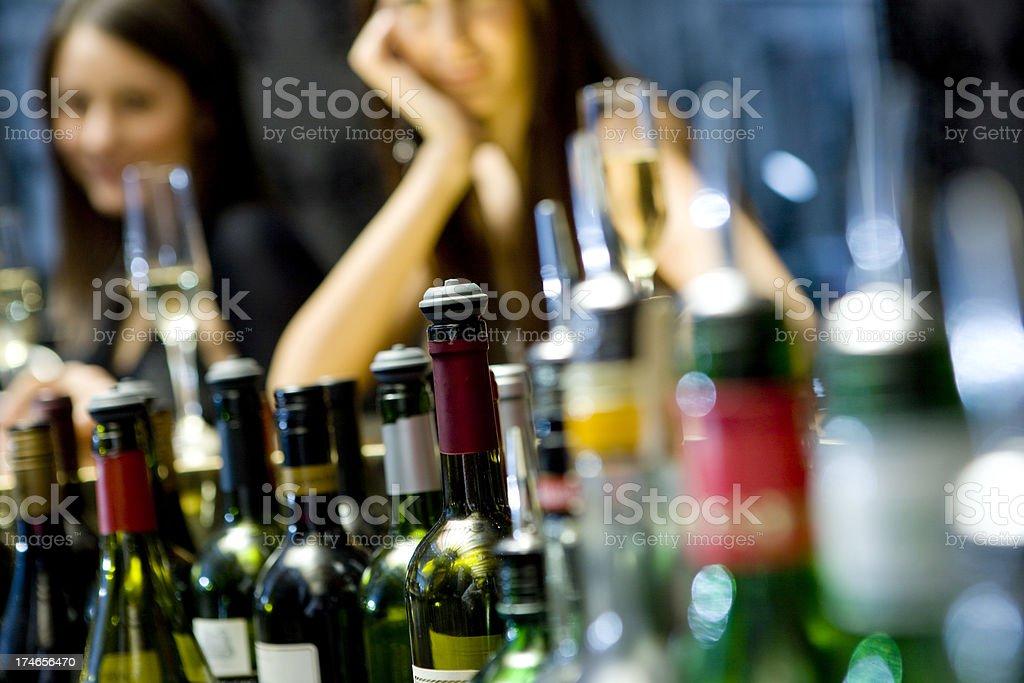 Bar Counter royalty-free stock photo