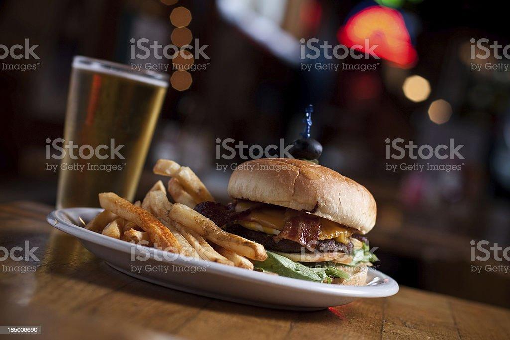 Bar Food stock photo