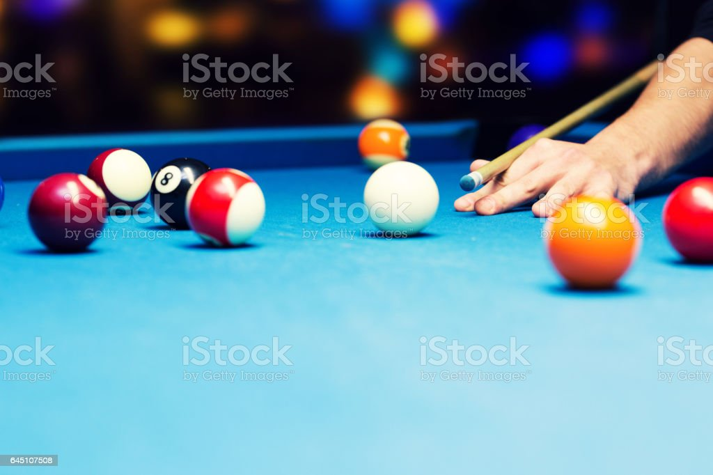 Bar Spiele - pool-Billard – Foto