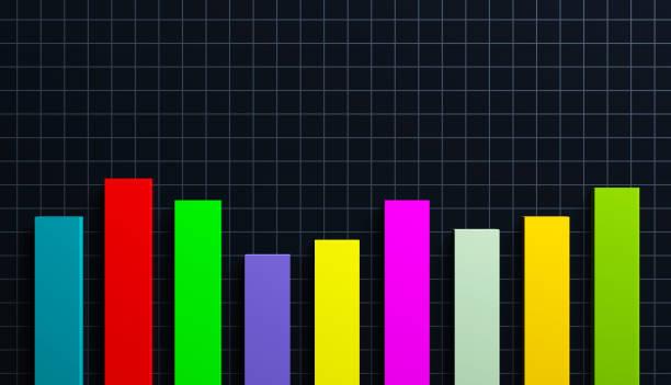 bar graph - diagramma a colonne foto e immagini stock